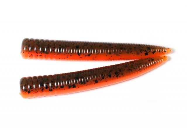 FNS Ned Worm (7,5 cm) Pumkin / Fluo orange.