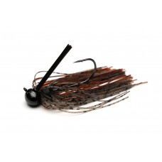 Tungsten Resin Weedless Football Jig - Speckled Craw