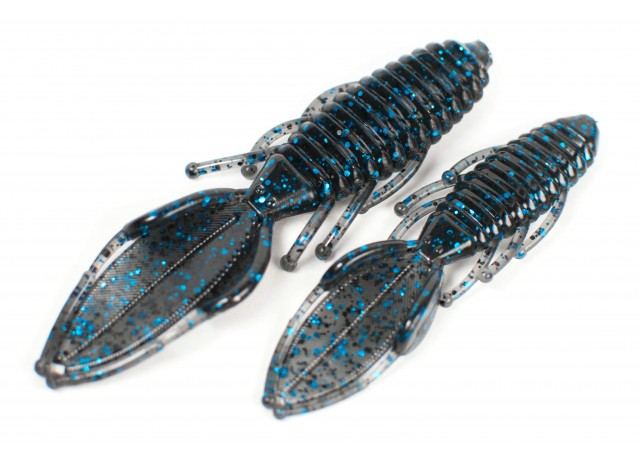 Stinger creature (11 cm) Black & Blue.