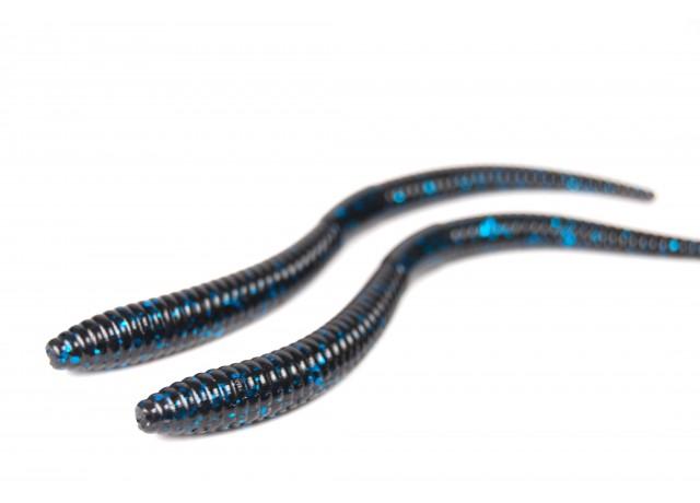 S-worm (12,5 cm) Black & Blue.