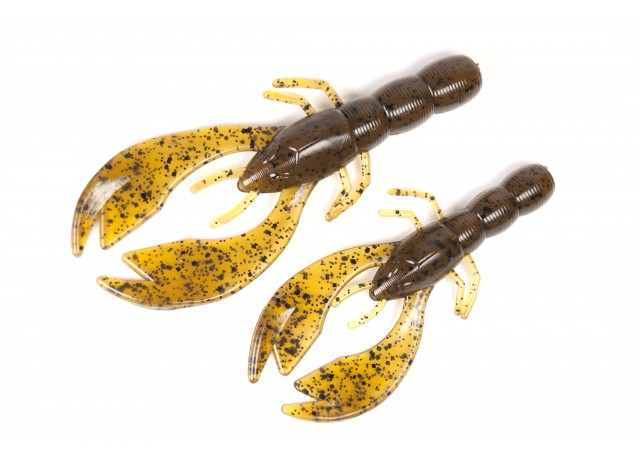 Swim craw (8 cm) Green pumkin brown.