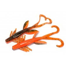 Hog style creature (10 cm) Pumpkin / Fluo orange.