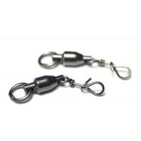 Mustad Fastach clips met ball bearing swivel