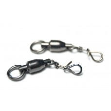 Mustad Fastach clips met ball bearing swivel