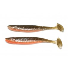Slim-tail Pumpkin brown silver belly orange (10,5 cm)