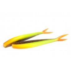 V-staart Green pumpkin fluo geel (11 cm)