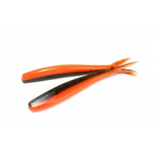 V-staart Green pumpkin fluo orange (11 cm)