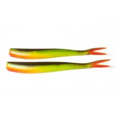 V-staart Green pumpkin fluo geel (20 cm)