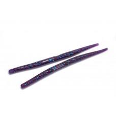 Thin stick (12,5 cm) Purple blue flake.